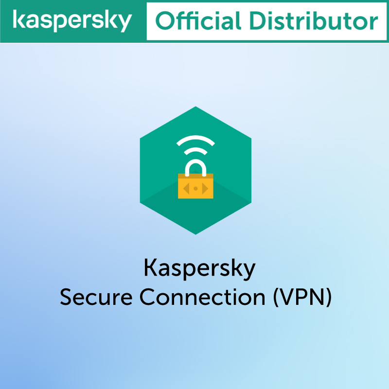Kaspersky Secure Connection VPN 5 Devices 1 Year