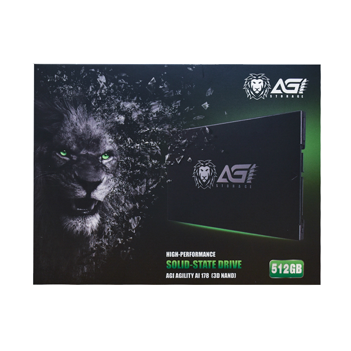"AGI SSD SATA 2.5"" 512GB (Intel Inside)"