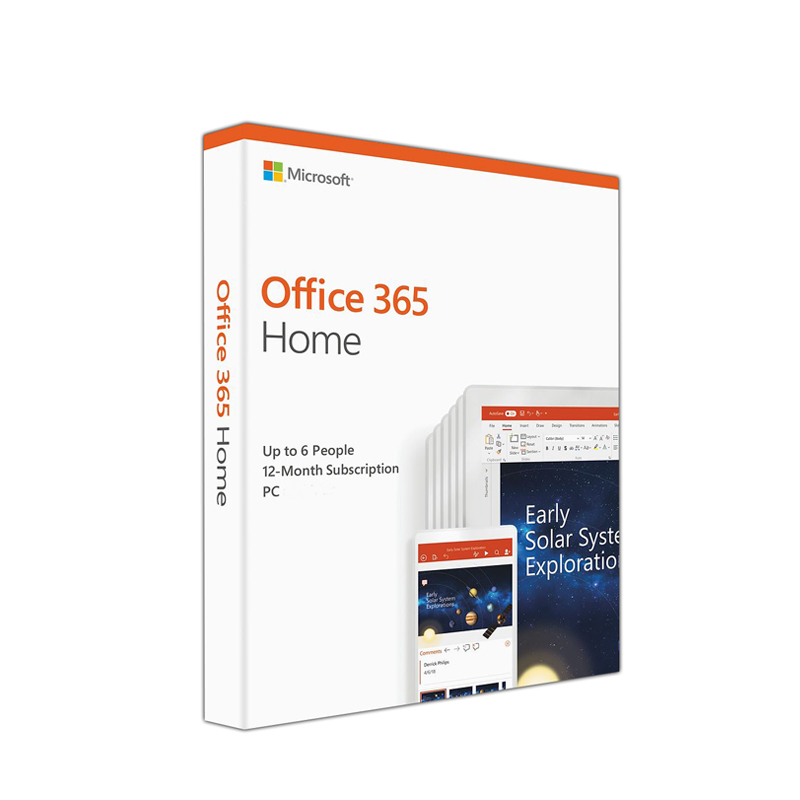 Microsoft Office 365 Home 32/64 Bit 12 Month Subscription 6GQ-00968