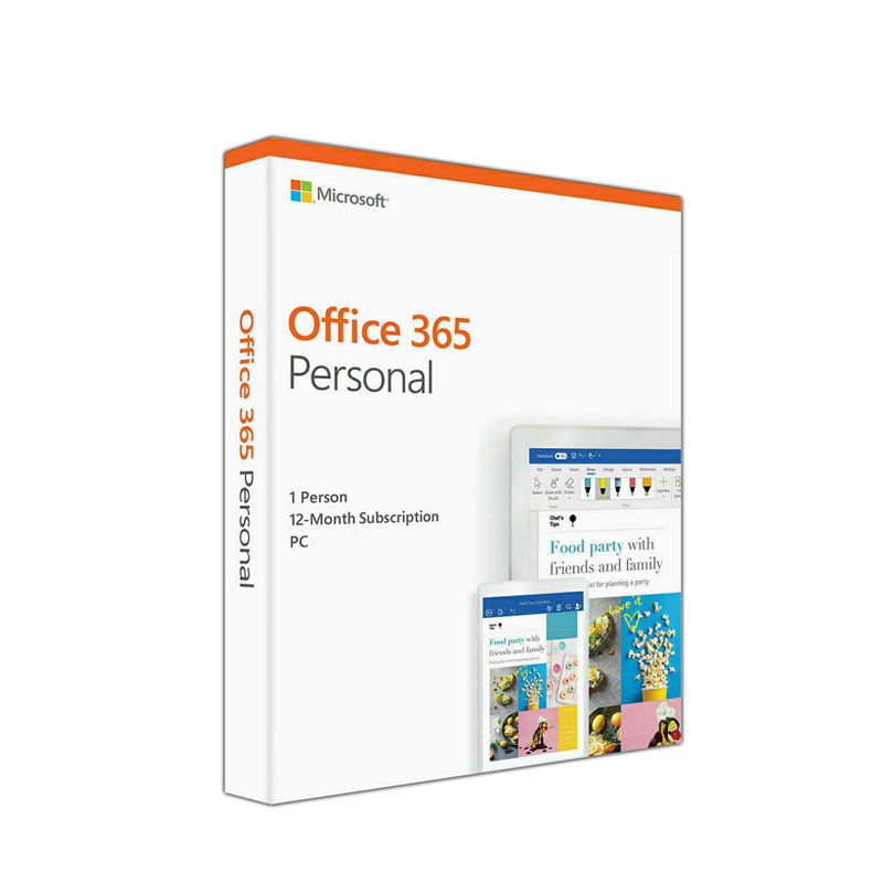 Microsoft Office 365 Personal 12 Month Subscription QQ2-00807