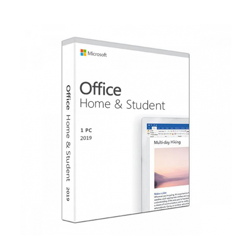 Microsoft Office Home and Student 2019 (FPP) 79G-05066