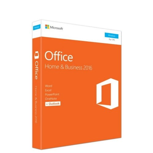 Microsoft Office Home and Business 2016 (FPP) T5D-02698