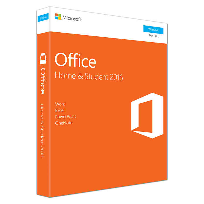 Microsoft Office Home Student 2016 (FPP) 79G-04679